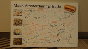 Committment -  - Fairtradegemeente Amsterdam - foto MVO Factor