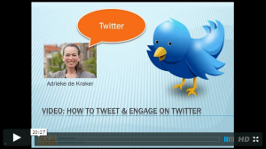 How to tweet and engage on Twitter - video